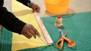 DIY - How To Make A Scrungi Ruffle Scarf