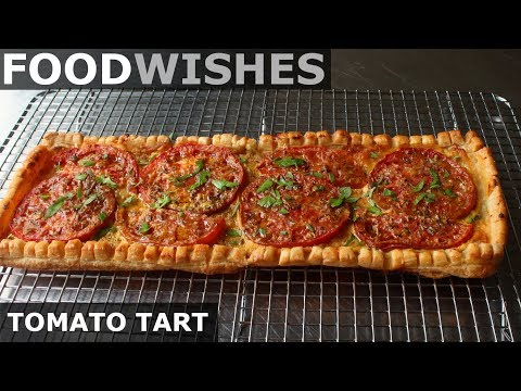 Tomato Tart – Food Wishes