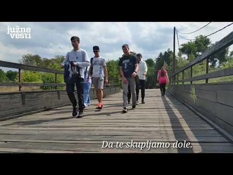 Daske na drvenom mostu u Tvrđavi u Nišu propadaju pod nogama