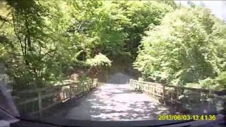 車載動画20130603三国峠→中津川林道長野県-埼玉県