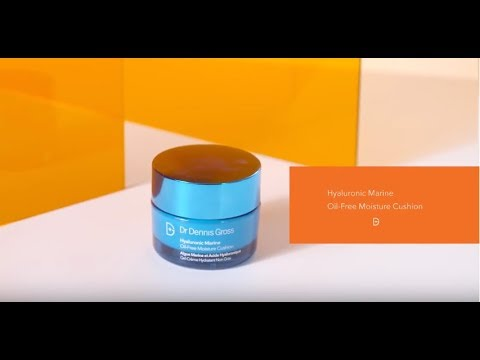 Effets et application de la crème Hyaluronic Marine Oil-free Moisture Cushion