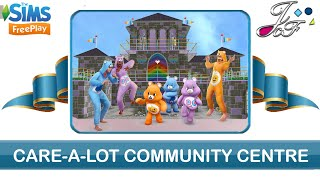 Sims FreePlay 🏫| CARE-A-LOT COMMUNITY CENTRE TOUR | (Early Access) 🔑