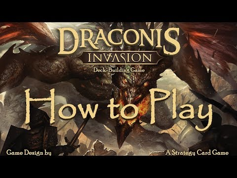How to Play Draconis Invasion (Updated Rules)