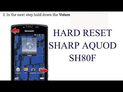 Sharp 506SH: Hard Reset Forgot Password No Recovery