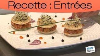 Recette Facile : Mini Burgers De Saumon Mariné