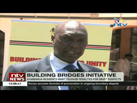 Nyandarua residents want tougher penalties for graft suspects