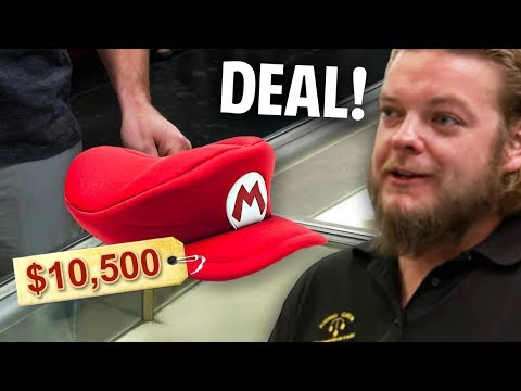 10 RAREST Gaming Memorabilia On Pawn Stars