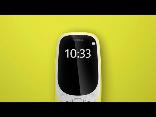 Видео Nokia 3310