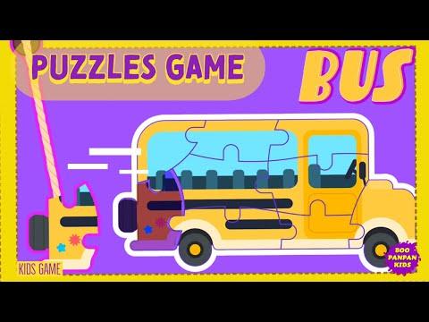 เกมจิ๊กซอร์แสนหรรษา Puzzles Kids Game Lingokids |Boopanpan Kids