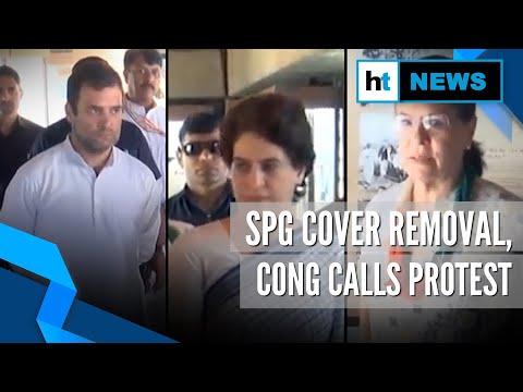 Gandhis' SPG cover row: Congress to protest at Jantar Mantar on Nov 22