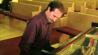 Tom Denker explains proper piano tuning techniques