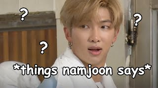 some of namjoon's most iconic quotes
