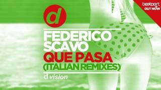 Federico Scavo   Que Pasa (Giovi Remix) [Cover Art]