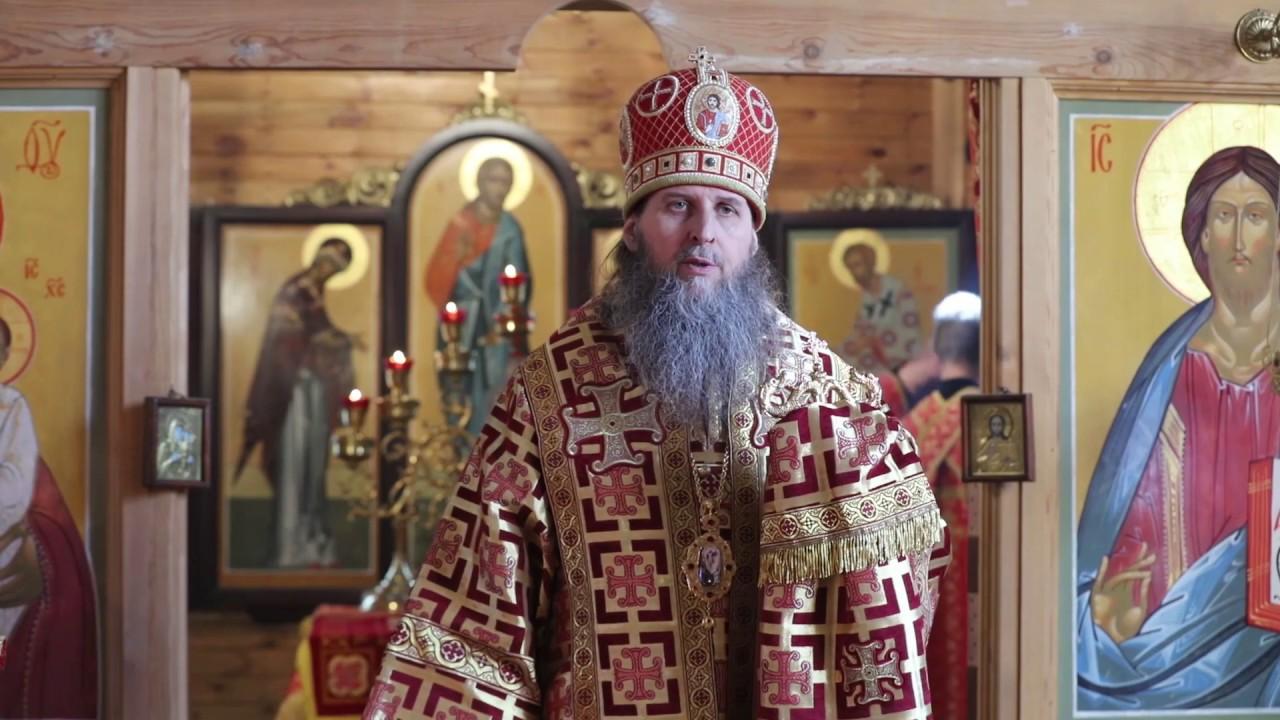 Божественная Литургия в день вмч. Георгия Победоносца. Проповедь митрополита Даниила