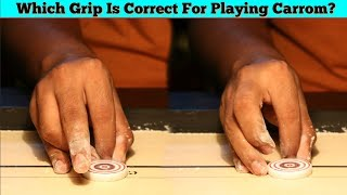 Hindi Carrom Coaching EP01 | TYPES OF GRIP IN CARROM And Tips For Improvement