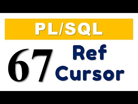 PL/SQL tutorial 67: PL/SQL Ref Cursors In Oracle Database by Manish Sharma