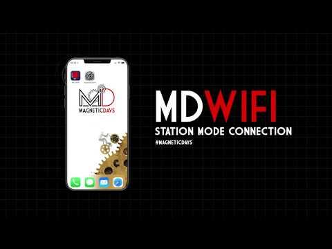 Tutorial App MD WiFi – Station Mode