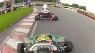 preview picture of video 'IAME Parilla KF2 vs 100ccm vs Rotax Max vs shifter kart at Kalsdorf karting AUSTRIA'
