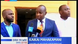 Kaikai Mahakamani:Kaikai ambaye ni mkuu wa chama cha wahariri,alifika mahakamani hii leo