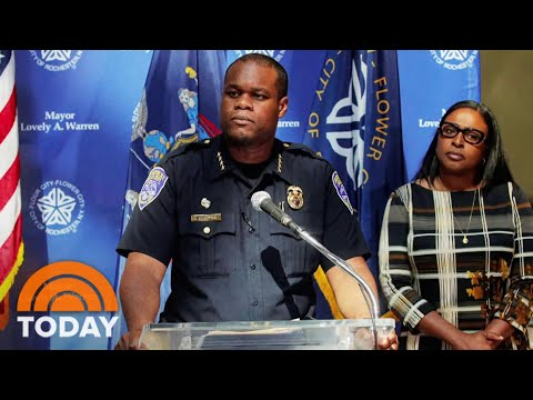 Rochester Police Chief And Other Officials Resign In Wake Of Daniel Prude's Death | TODAY