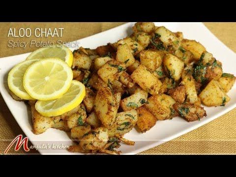 Aloo Chaat – Spicy Potato Snack by Manjula