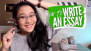 How to Write a GREAT essay | Study Hacks