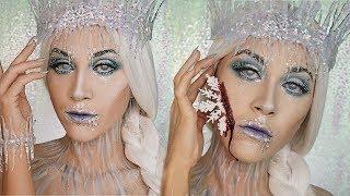 Reina De Hielo Look - Ice Queen Makeup Look | Vicky Alvarez