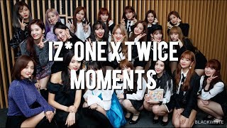 IZ*ONE Nako The Biggest TWICE Fangirl + IZ*ONE X TWICE MOMENTS #1
