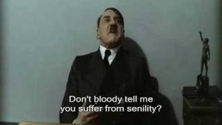 Pros and Cons with Adolf Hitler: Senility