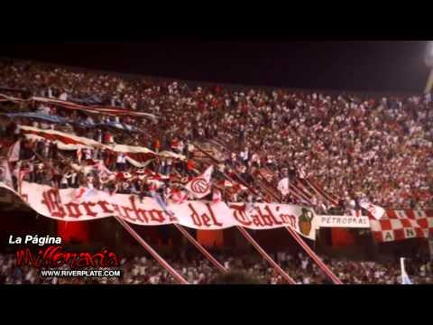 """""""El mundo me hizo así - River vs A.Tucumán"""" Barra: Los Borrachos del Tablón • Club: River Plate • País: Argentina"""