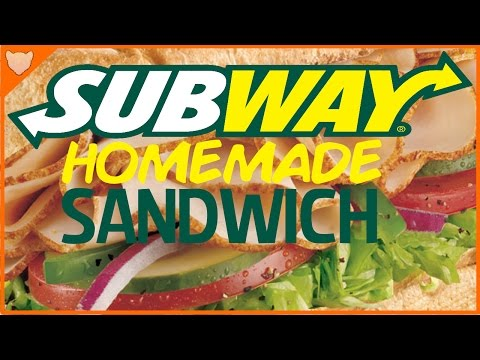 DIY How To Make A Homemade Subway Sandwich! *TASTES JUST LIKE A SUB*
