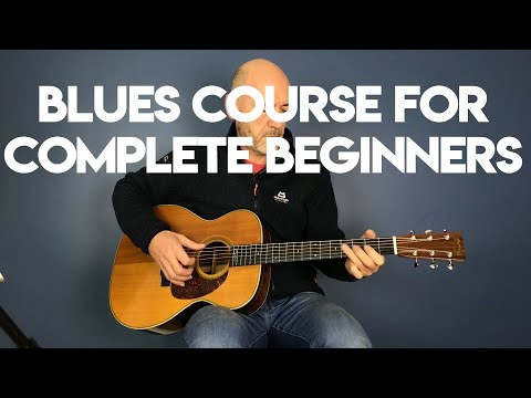 Blues guitar for complete beginners - Pt 1 - YouTube