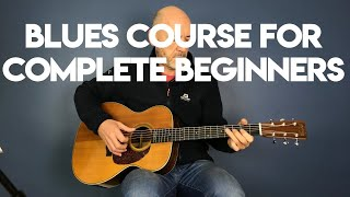 Blues guitar for complete beginners - Pt 1