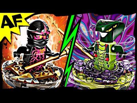 Vidéo LEGO Ninjago 9572 : NRG Cole