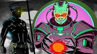 ТИТАН БЛИЗОК мультик для детей игра Shadow Fight 2 бой с тенью видео для детей от FGTV
