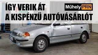 Totalcar MűhelyPRN 21.: Így verik át a kispénzű autóvásárlót
