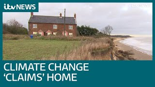 Climate change appears to speed up loss of home to sea | ITV News
