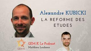 Interview / Débat n°3 : Alexandre Kubicki - La réforme des études de Masso-Kinésithérapie