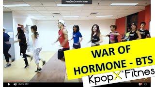 War of Hormone by BTS| Kpop Dance | Dance Fitness | KpopX Fitness by KPOPX FITNESS OFFICIAL YOUTUBE CHANNEL