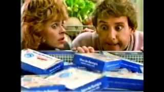 VINTAGE VAN DE KAMPS COMMERCIAL W JUMPING FISH & ANDREA BARBER FROM FULL HOUSE