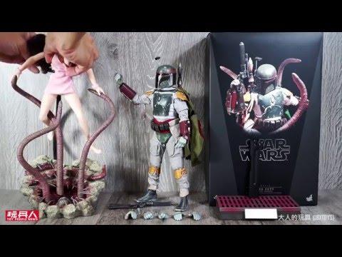 Hot Toys – MMS312 – 星際大戰六部曲:絕地大反攻【波巴.費特。豪華版】1/6 比例 Star Wars Boba Fett 開箱