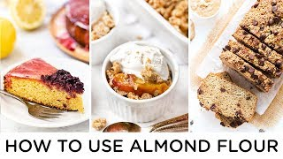 easy recipes with almond flour
