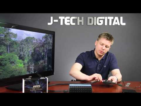 Premium Quality Hdmi To Hdmi + Audio (Spdif + RCA Stereo) Audio Extractor Converter Review J-Tech