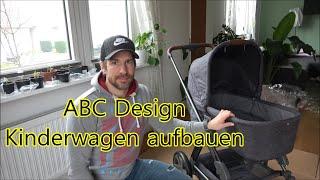 ABC Design Condor 4 aufbauen Kinderwagen zusammenbauen Aufbau Anleitung