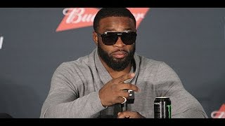 Tyron Woodley Talks Giving Conor McGregor His Belt