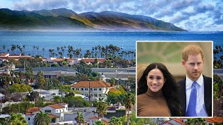 video: Meghan and Harry make permanent move to new home in Santa Barbara, California