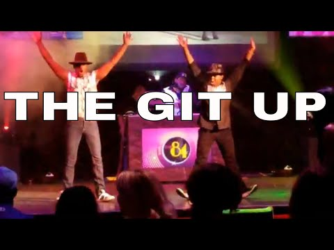 The Git Up Dance Live - Blanco Brown   Cameron Cole