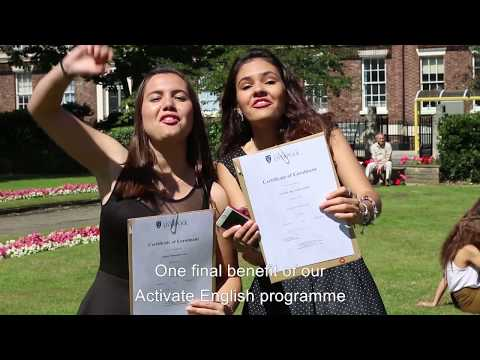 Activate English – a General English Course at the University of Liverpool