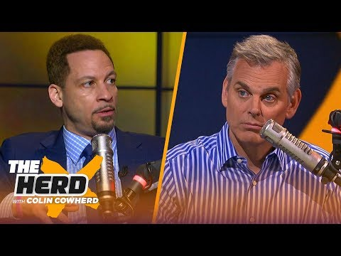 Chris Broussard addresses KD Twitter beef, says KD & Kawhi is the best move for LAC | NBA | THE HERD