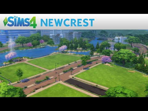 The Sims 4's Newcrest Expands Space For Sims For Free